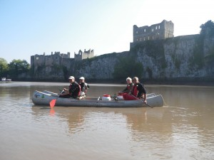 TIDAL WYE Guide canoe and Kayak river trip