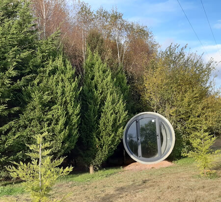 Alternative Monmouth Camping Pods